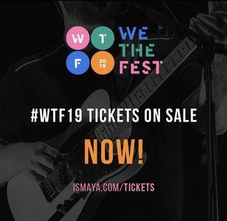 WE THE FEST VIB #wtf19