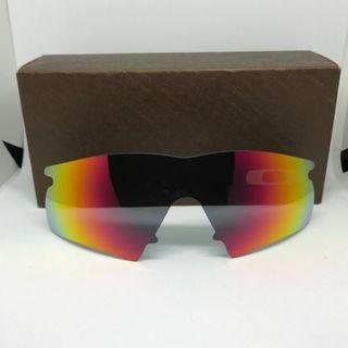 M Frame Hybrid Ruby Red POLARIZED Dym Replacement Lense For Oakley M Frame Sunglass