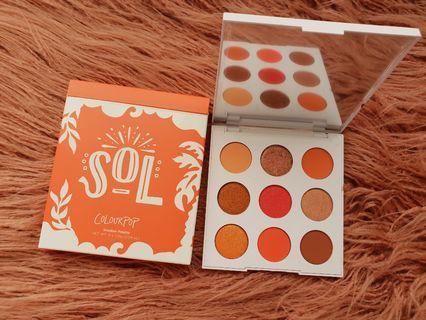 Colourpop Sol Eyeshadow palette