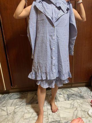🚚 襯衫洋裝