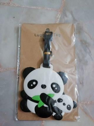 Panda Luggage Tag #junetogo