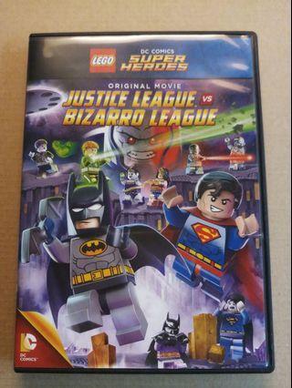 全新 Lego DVD Super Heroes Justice League vs. Bizarro League 1隻