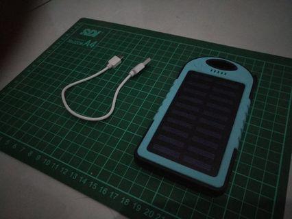 Power Bank Solar Cell 8000mAh