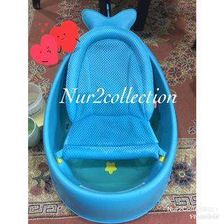 Preloved ORIGINAL SkipHop Moby Smart Sling 3 Stages Baby Tub