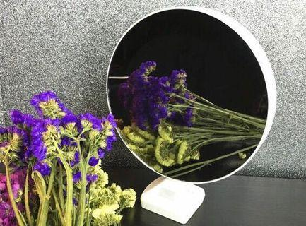 LED touch light Mirror with photo frame