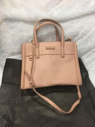 Charles & Keith Pink Bag