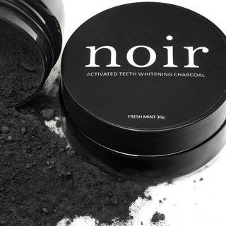 Noir Activated Teeth Whitening Charcoal