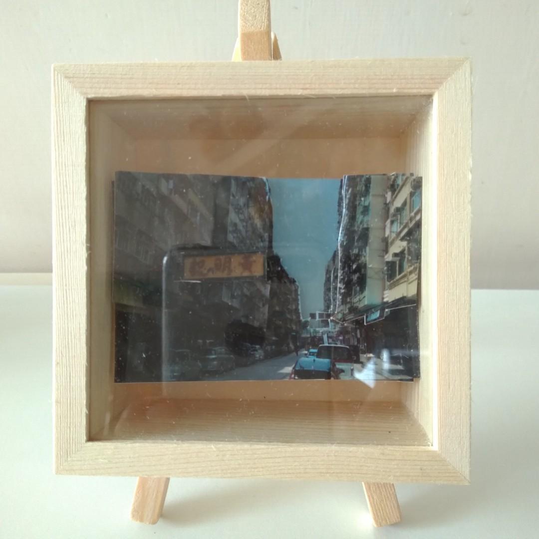 九龍城啟德道黃明記套裝AR立體紙雕 Kowloon City pack paper tole (9cmx9cmx4cm)