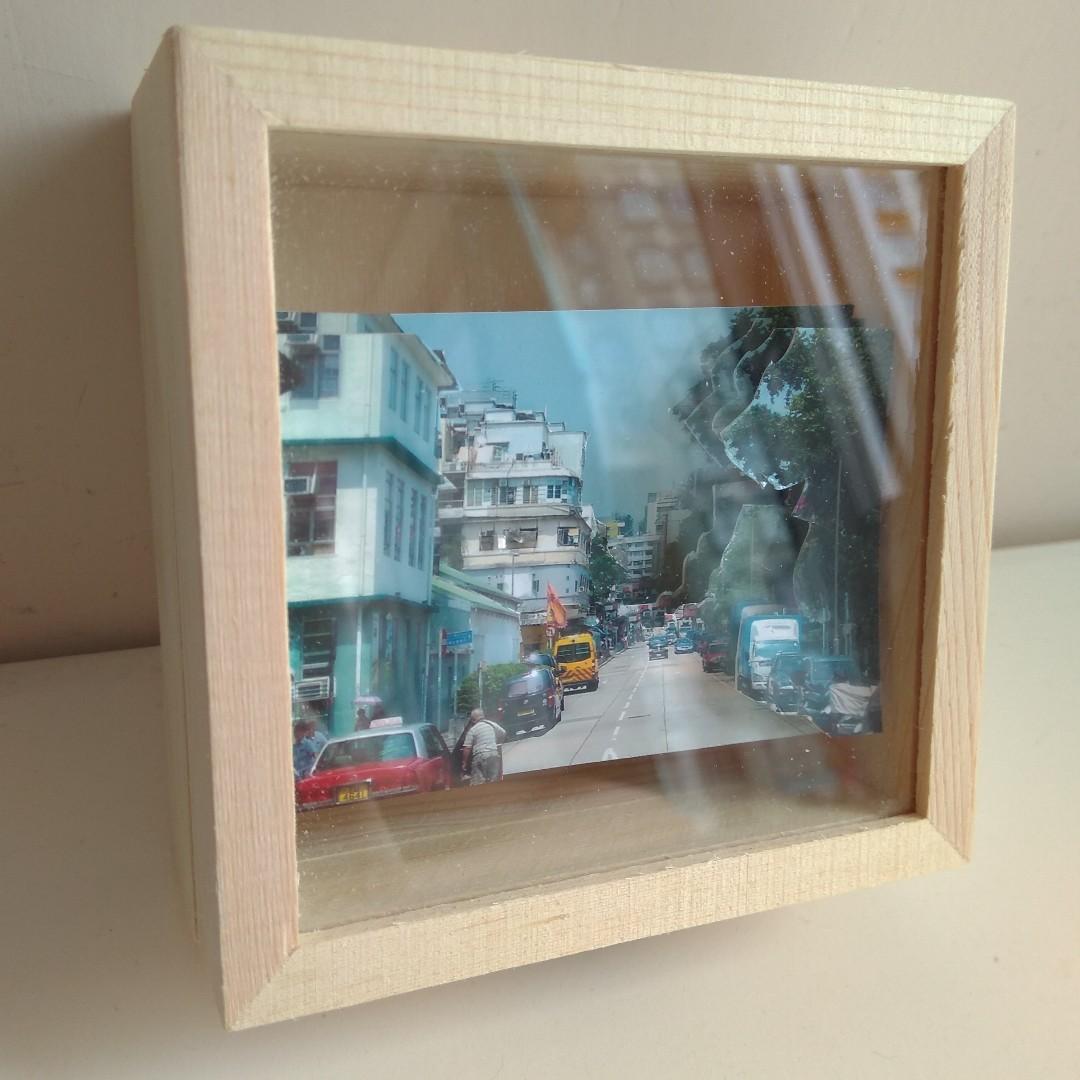 九龍城賈炳達道套裝AR立體紙雕 Kowloon City pack paper tole (9cmx9cmx4cm)