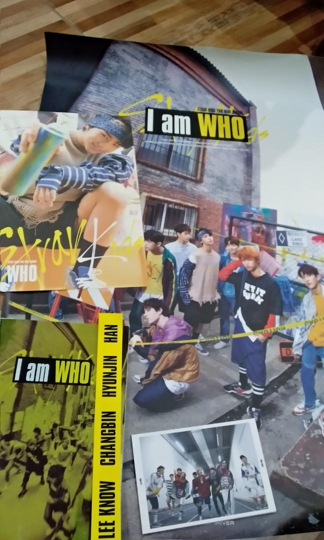 Album straykids i am who (vers who)