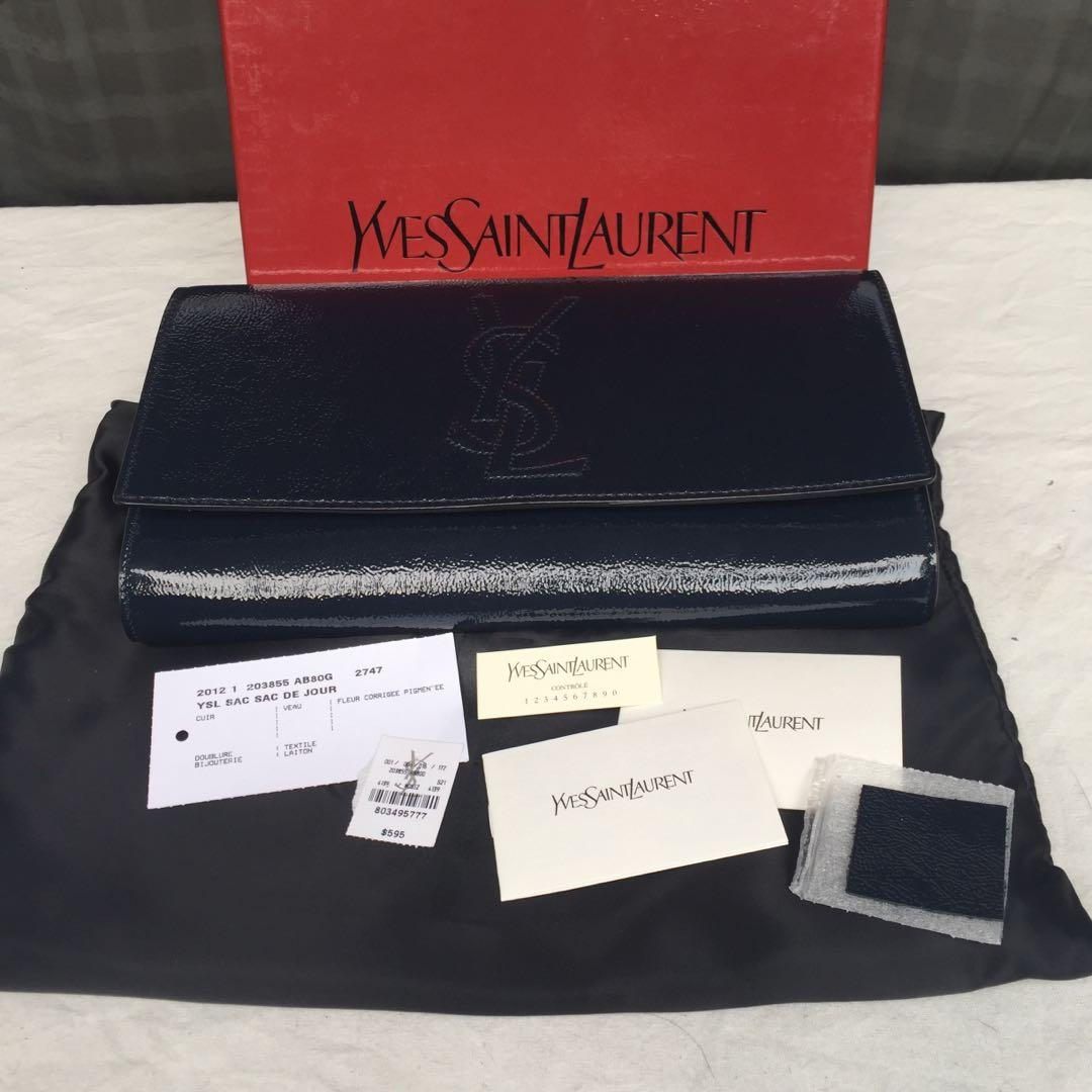 Authentic Yves Saint Laurent clutch