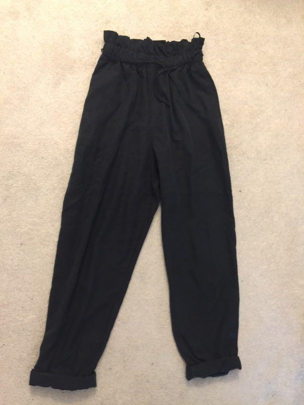 Babaton pure silk pants (XS)