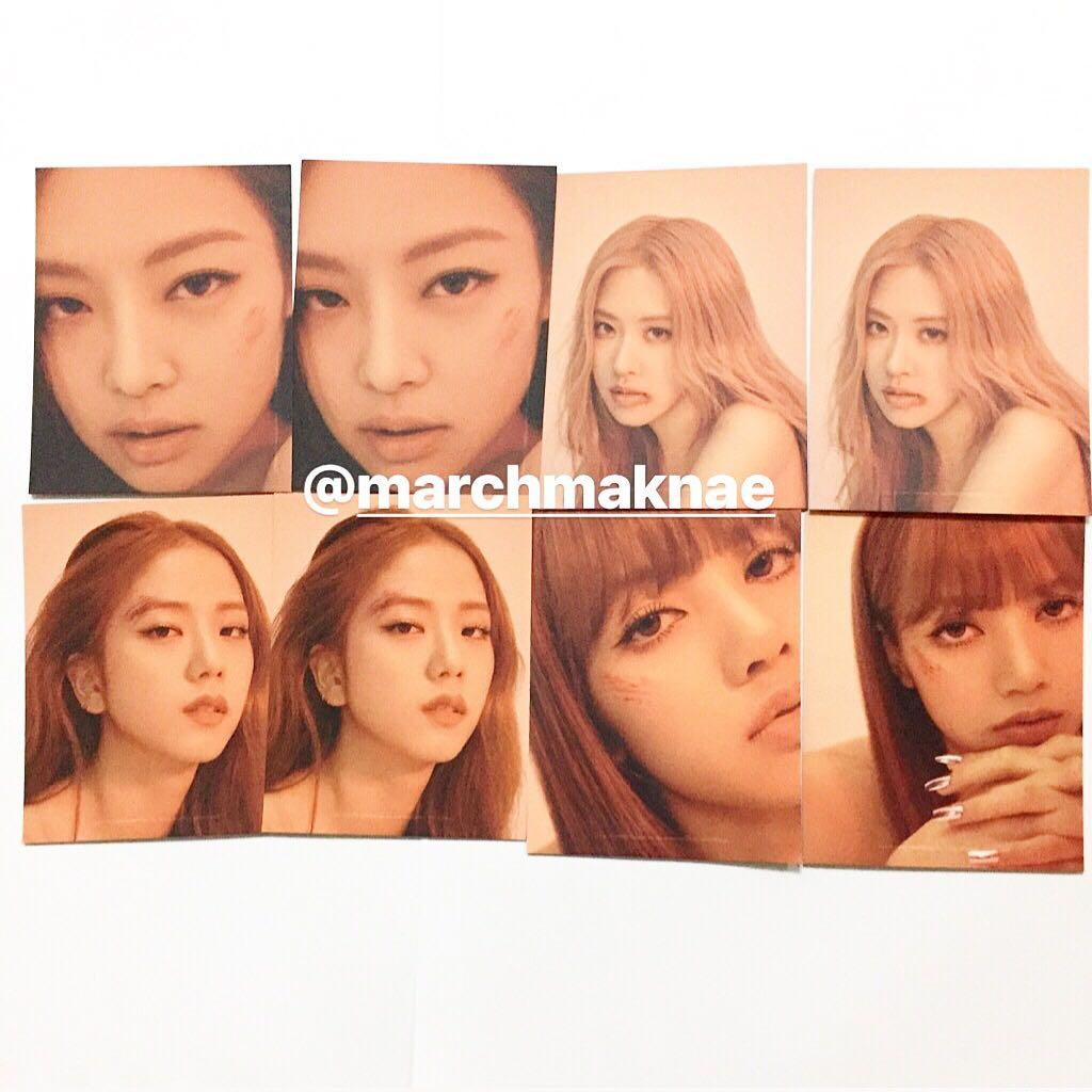 BLACKPINK - Kill This Love Official Album Photocard