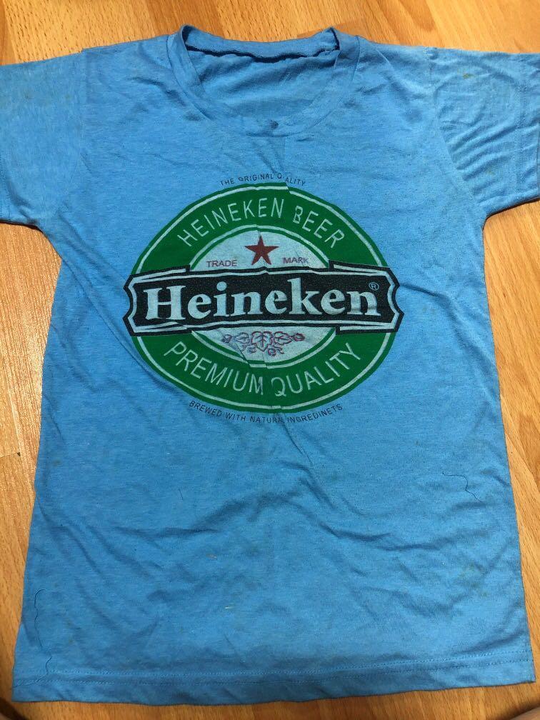 Blue Heineken shirt