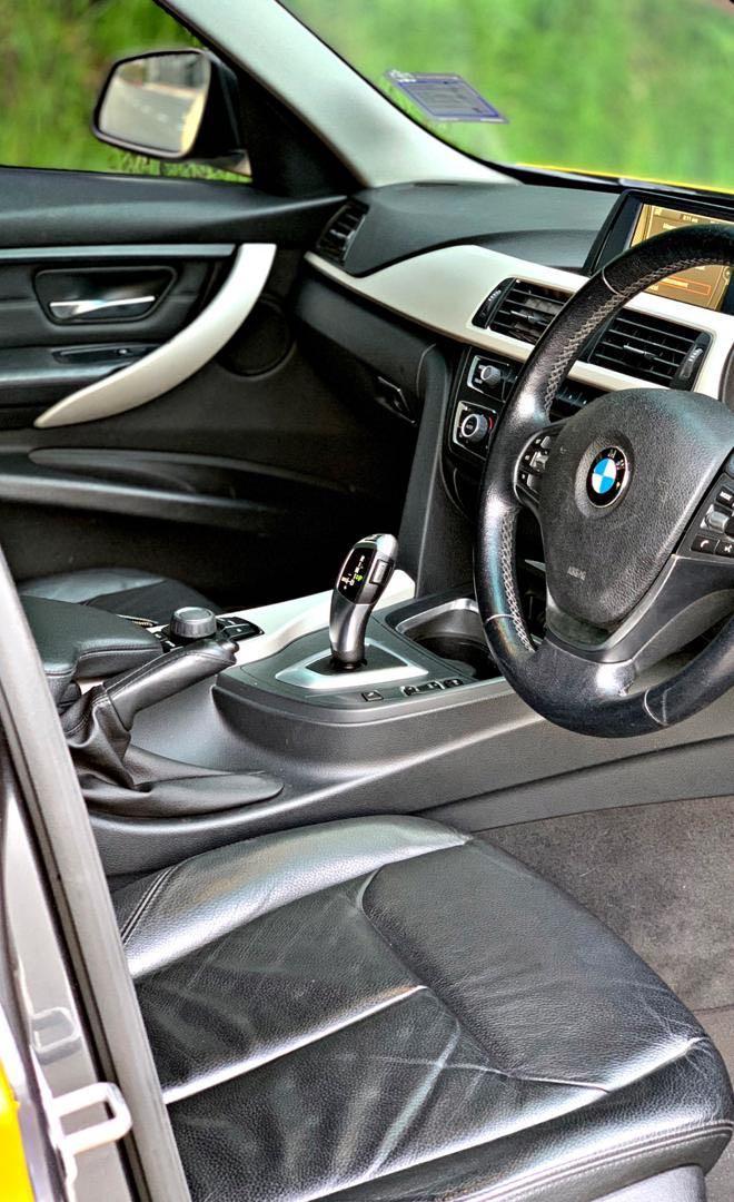 BMW F30 316i 1.6 (A) TWIN POWER TURBO PUSH START BUTTON