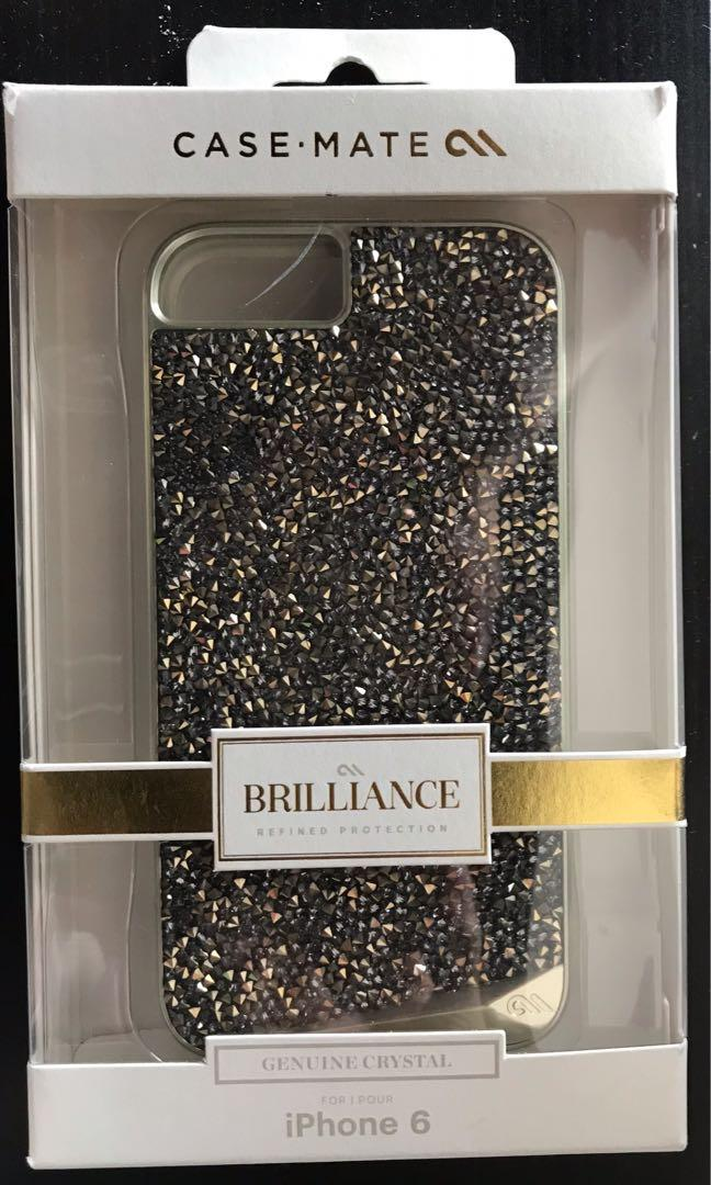 Case Mate iPhone Crystal Case in Champagne Brilliance