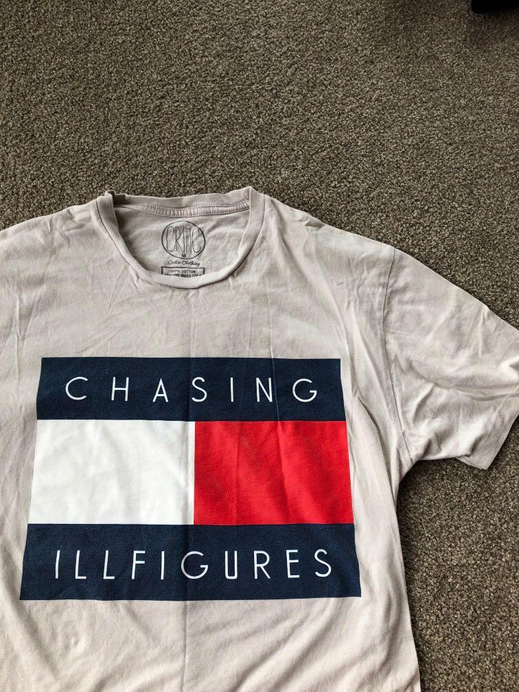 Chasing illfigures (tommy hilfiger lookalike) graphic tee