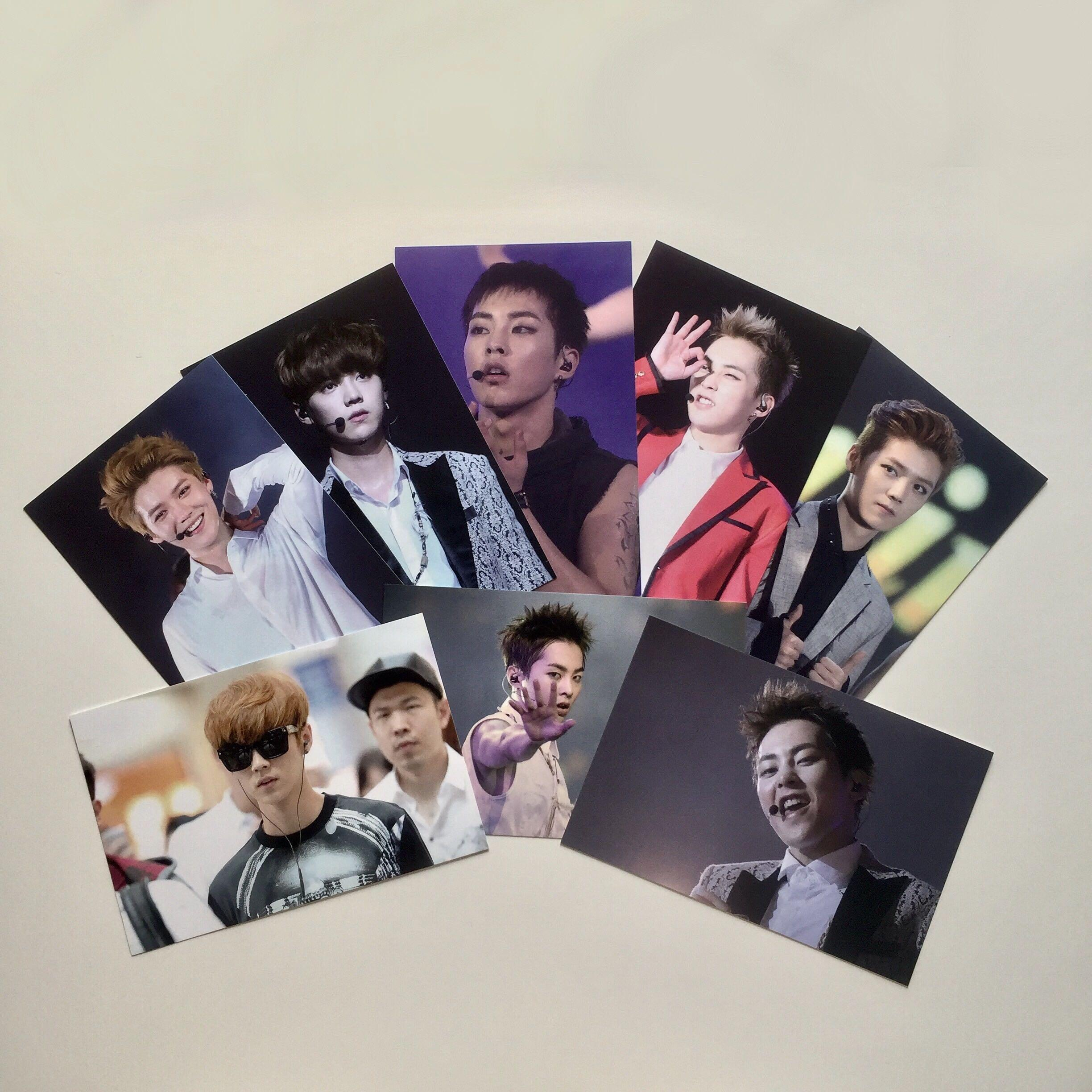 """Crave for Affection"" EXO XiuHan Xiumin & Luhan Blessin90 Fansite Package"