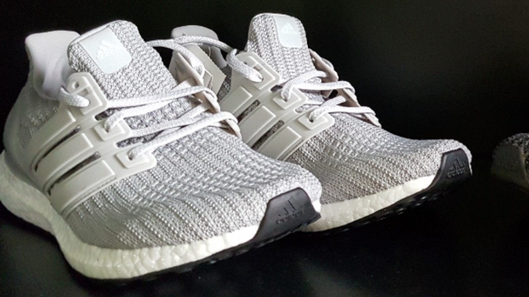 separation shoes 754f5 cf5f9 (CUSTOMER PAIR!) Adidas Ultraboost 4.0 Grey Two