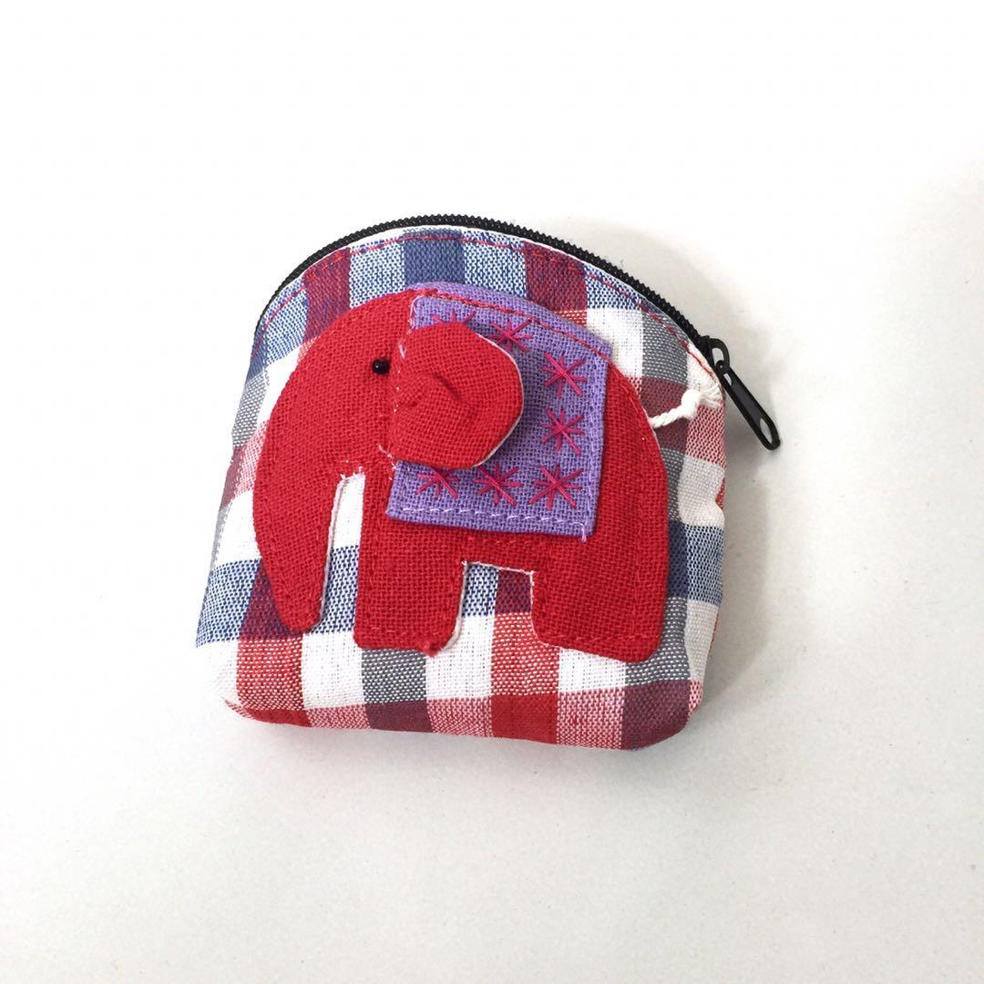 Cute Elephant Coin Pouch