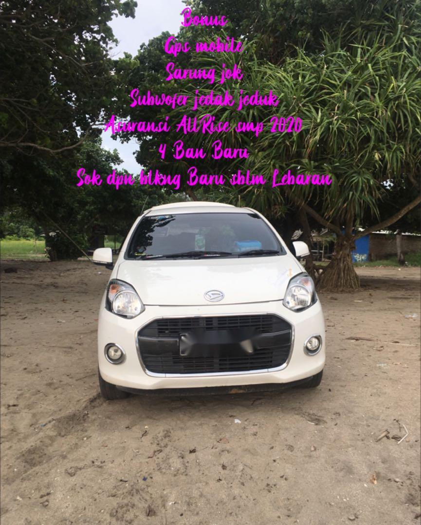 Daihatsu Ayla 2016 1.0 Manual Type X