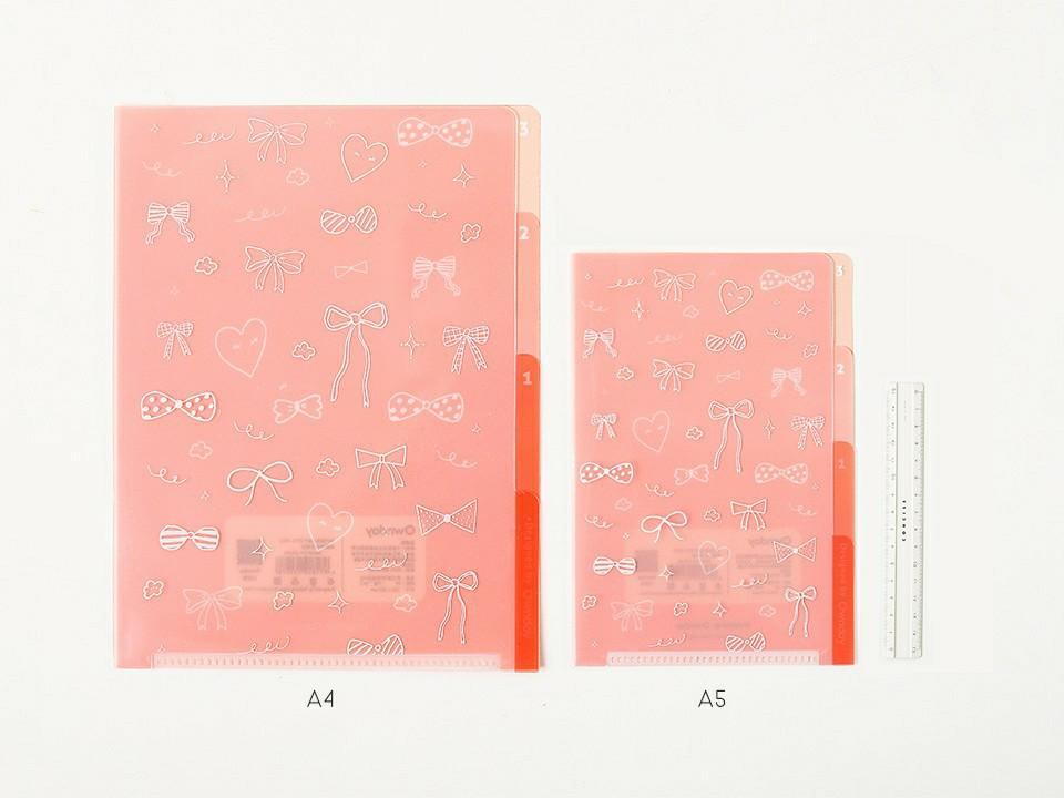 Dream Road 3 Pockets File Folder A4