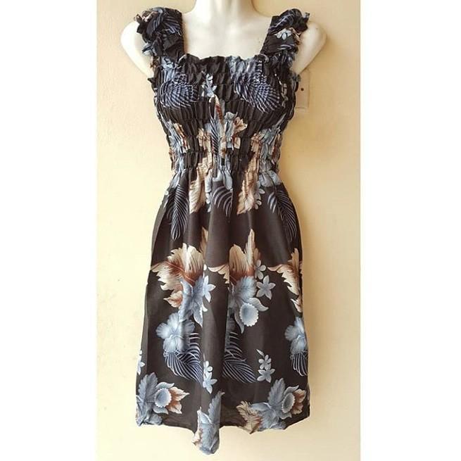 Dress Kerut Pendek