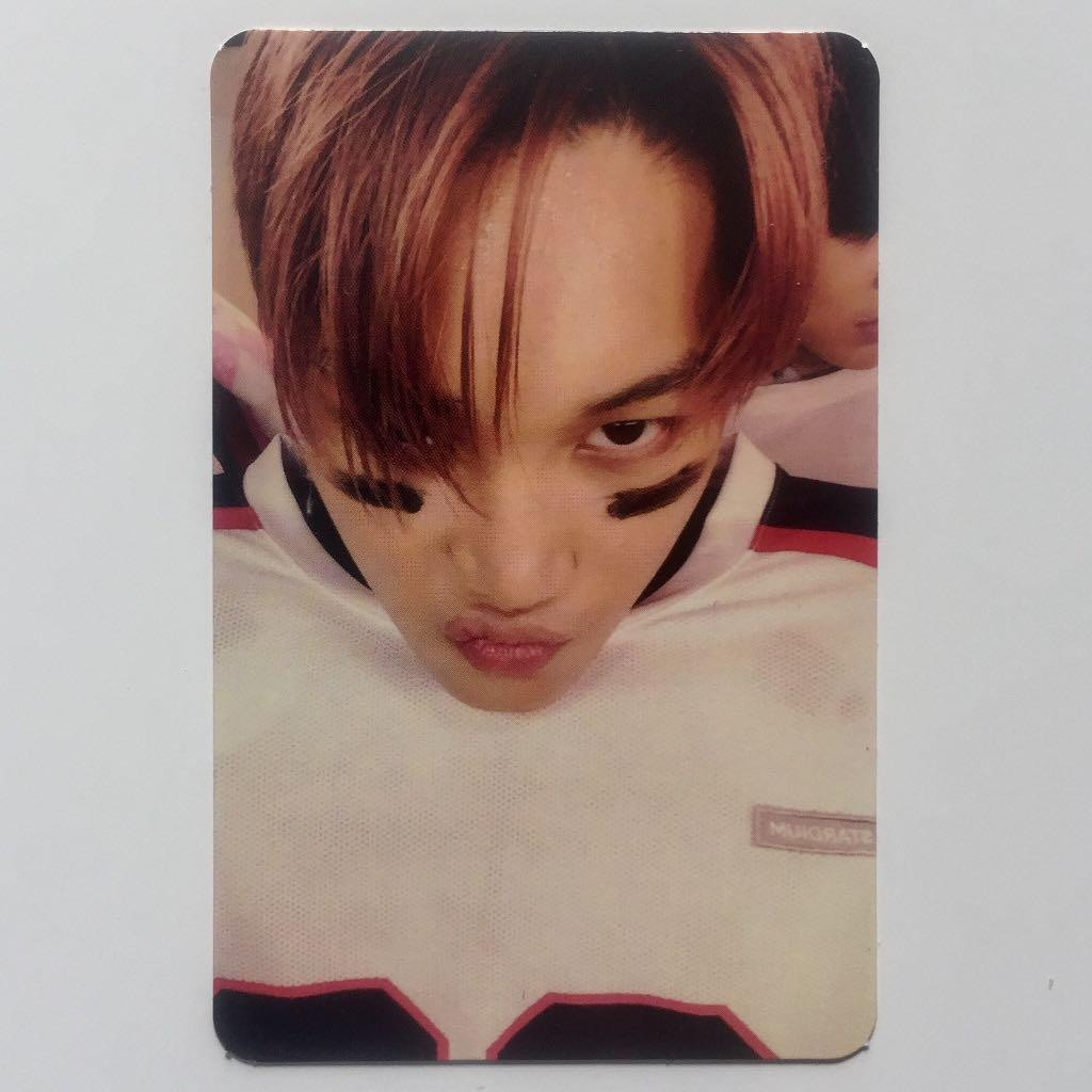 EXO Love Me Right Album with Official Kai Photocard