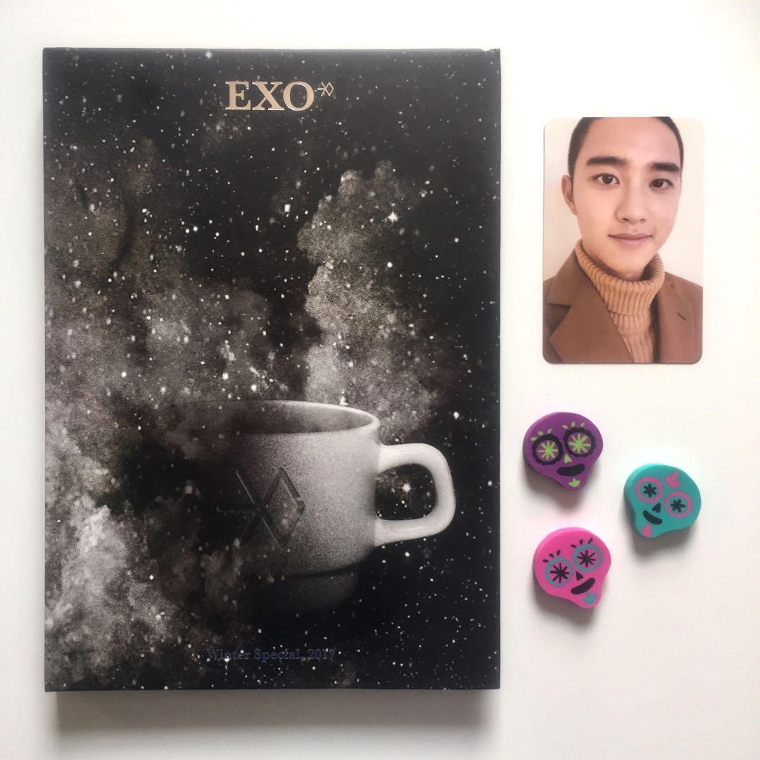 EXO Universe Album with D.O. Kyungsoo Official Photocard