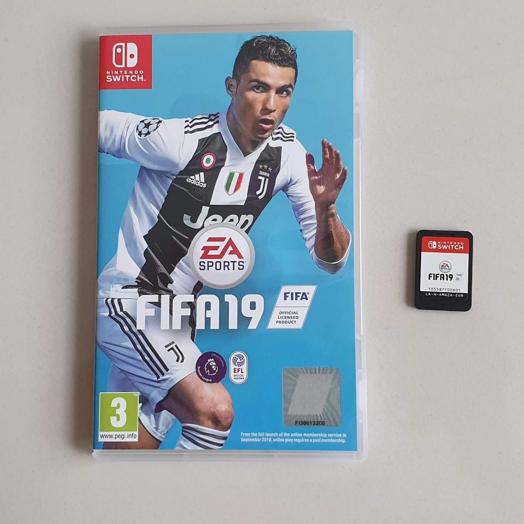 FIFA 19 Nintendo Switch Used Played