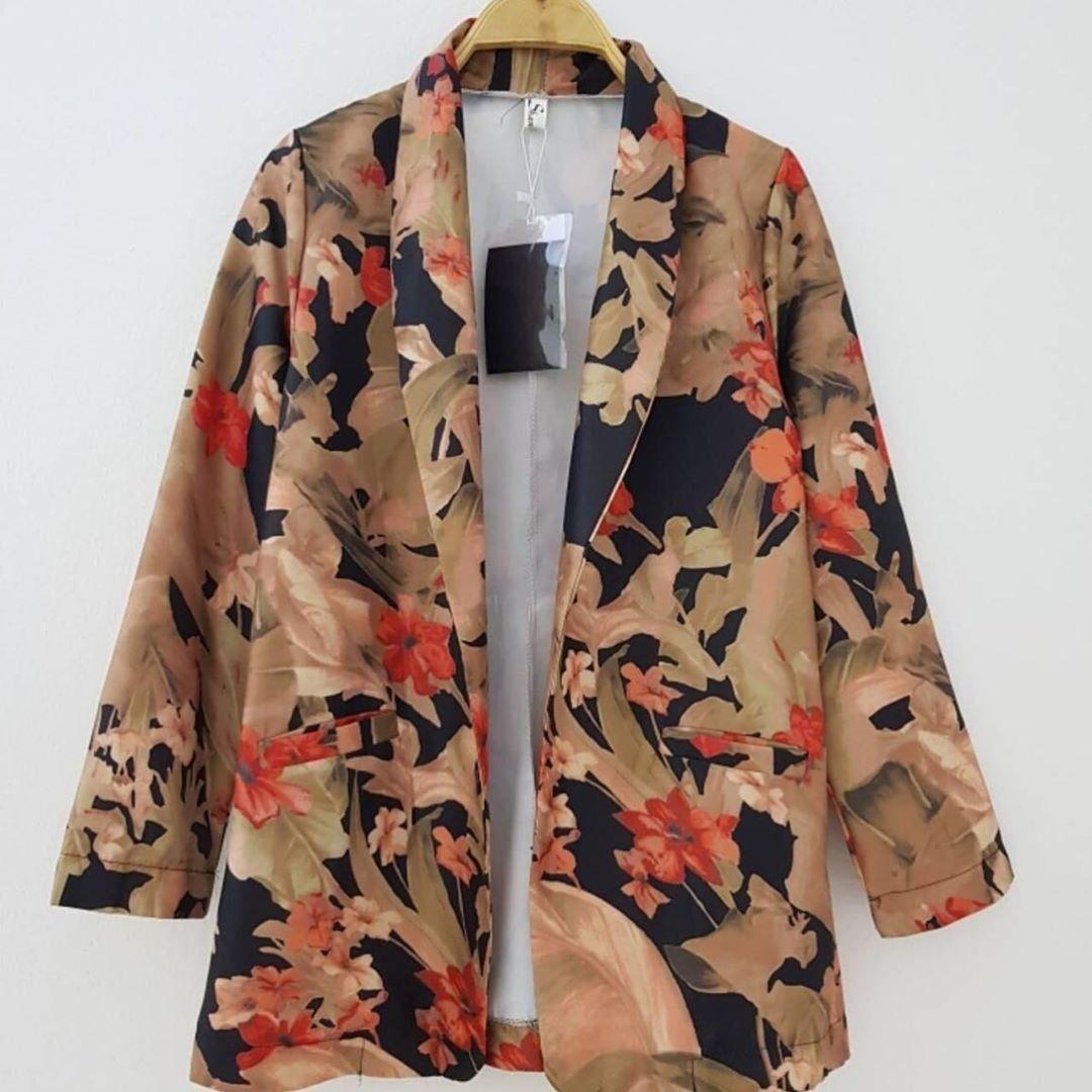 Floral Blazer Zara