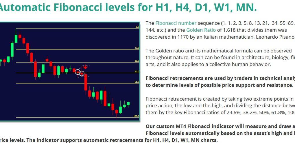 Forex Fibonacci Pin Bar Indicator Everything Else On Carousell