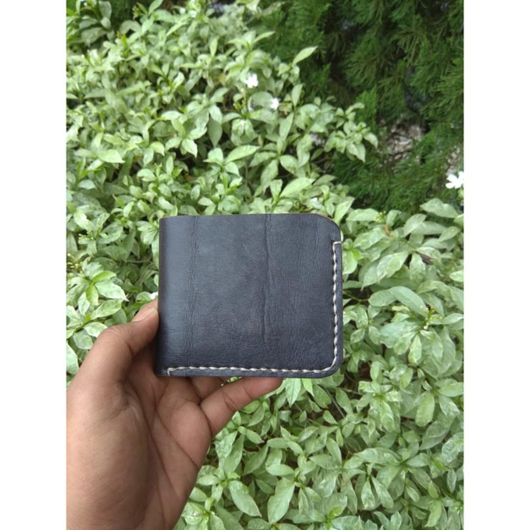 GENUINE LEATHER BIFOLD WALLET DOMPET KULIT ASLI VINTAGE #maulol