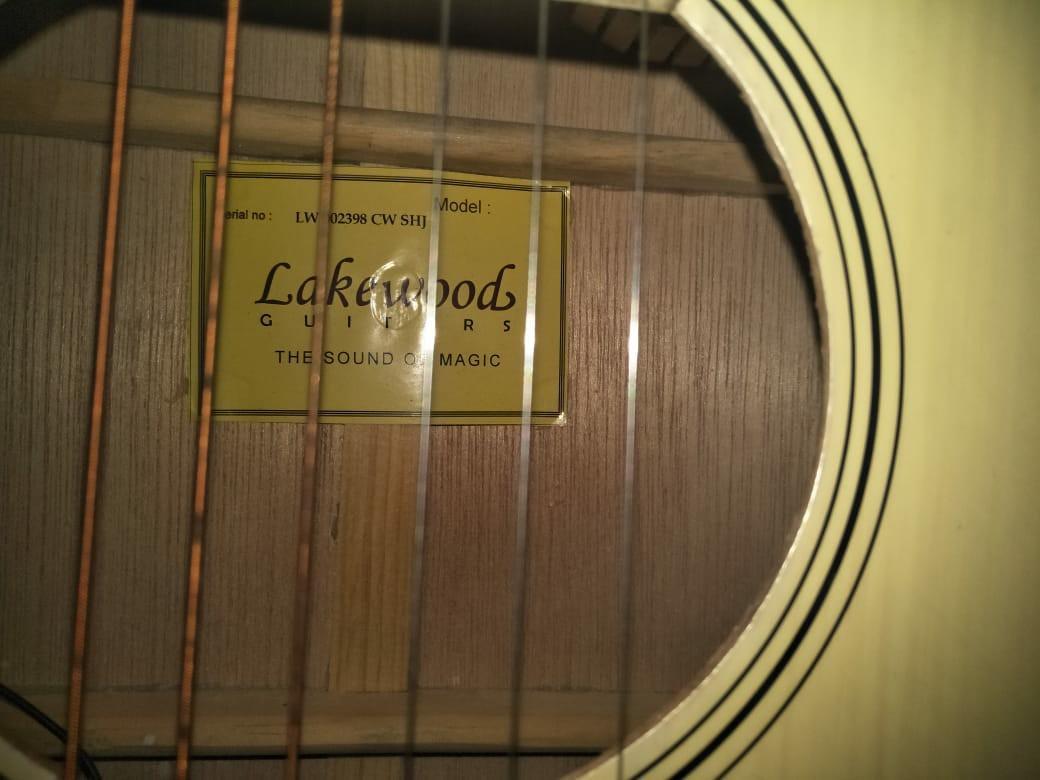 Gitar Lakewood Akustik Elektrik