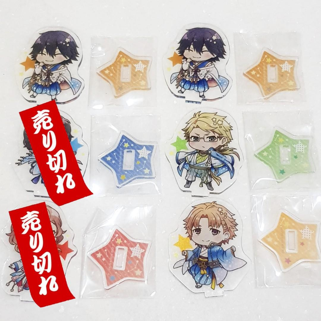 (INSTOCK) Bungo Stray Dogs x Tree Village Collab Trading Acrylic Stands