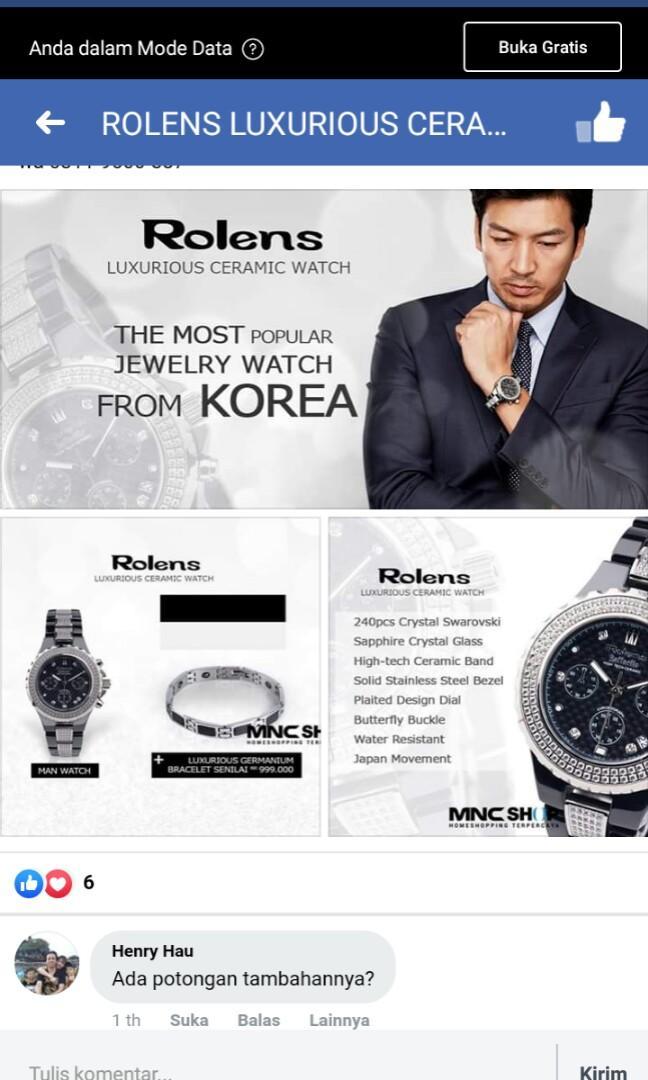 jual jam tangan mewah