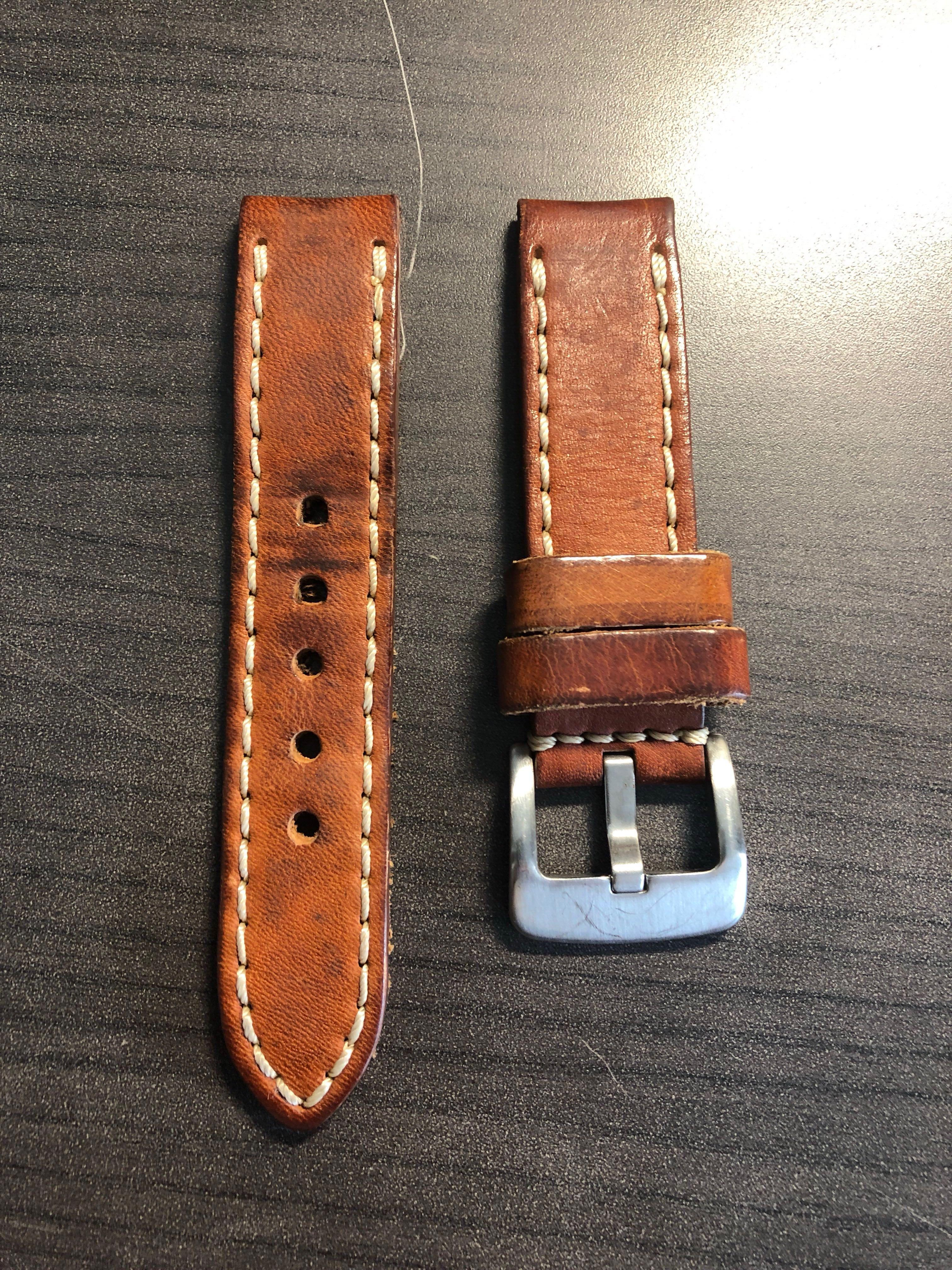 Leatherworks 22mm Leather Strap
