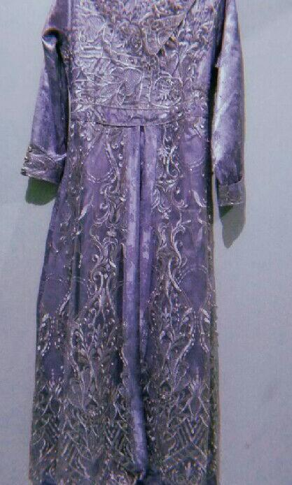 Jual Cepat Long Dress Ungu (boleh nego)
