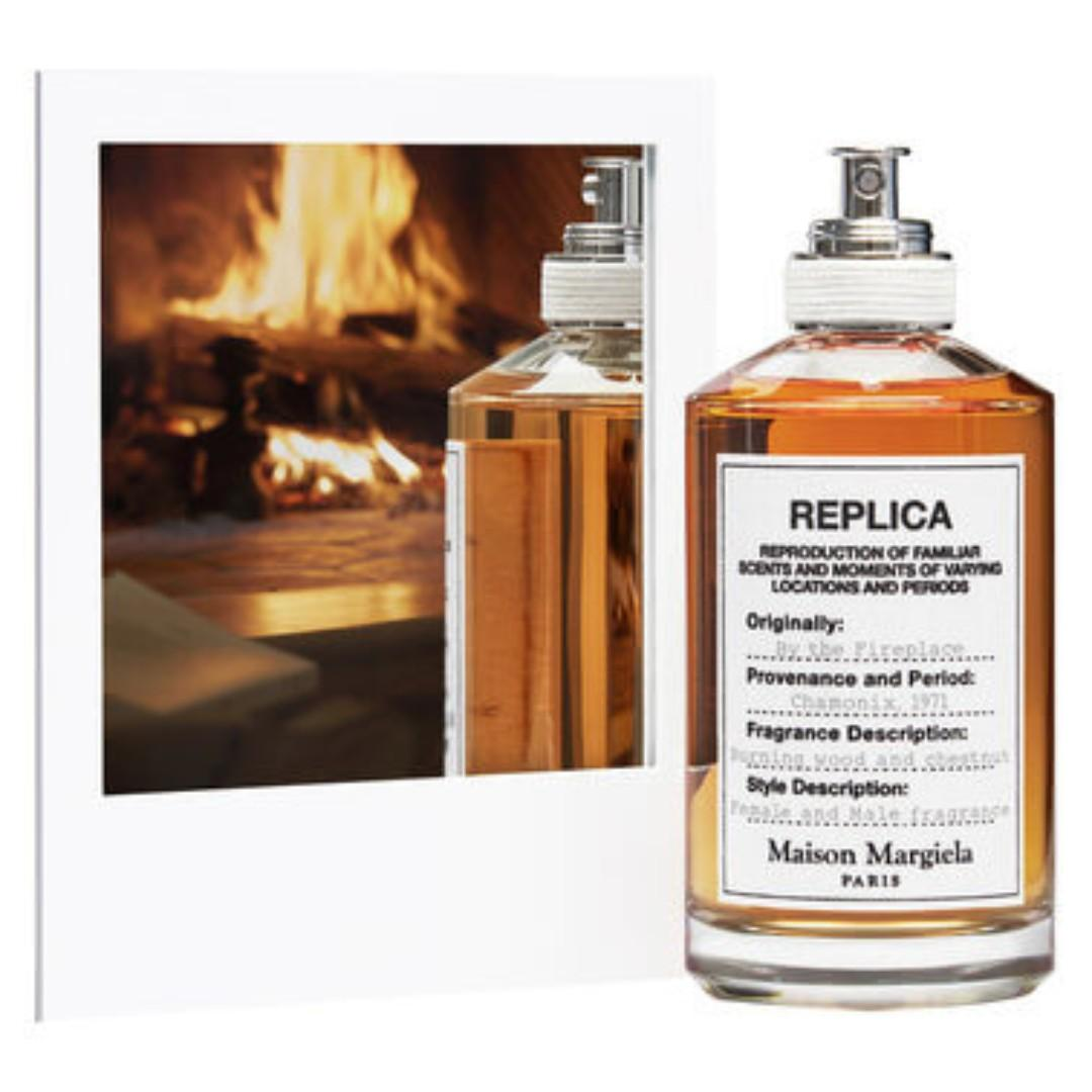 "Maison Margiela Replica ""By The Fireplace"" EDT 1.2ml Sample Size Perfume"