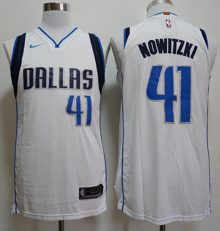premium selection 92b7a 0d2fa NBA Dallas Mavericks Dirk Nowitzki Swingman Jersey