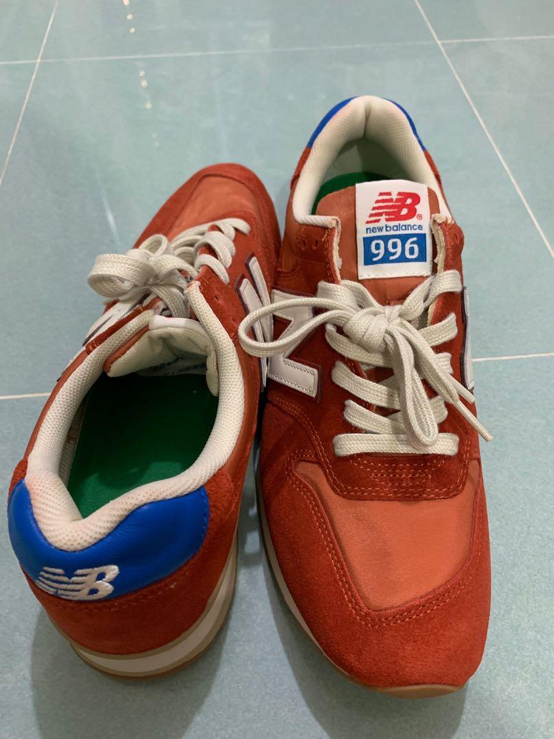 huge selection of 026f5 3d32d New Balance 996 Rev lite red orange 全新 US10 EU44