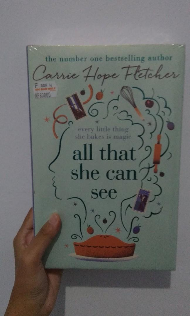 [Novel Bahasa Inggris] All That She Can See - Carrie Hope Fletcher