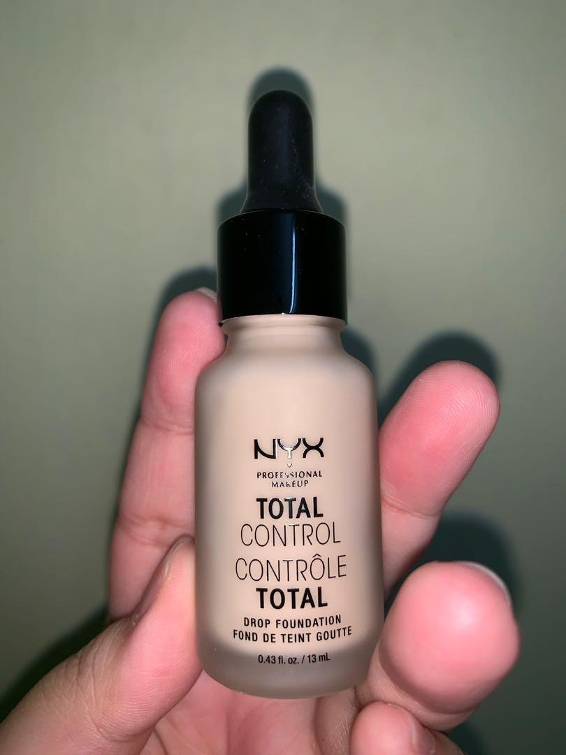 NYX Total Control Drop Foundation in Vanilla