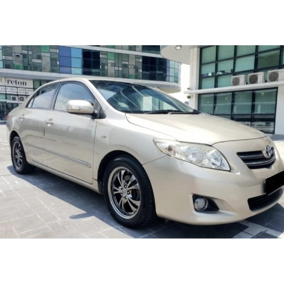 Efficient, Comfortable, Low Deposit - Toyota Altis 1.6L Available for Rent !