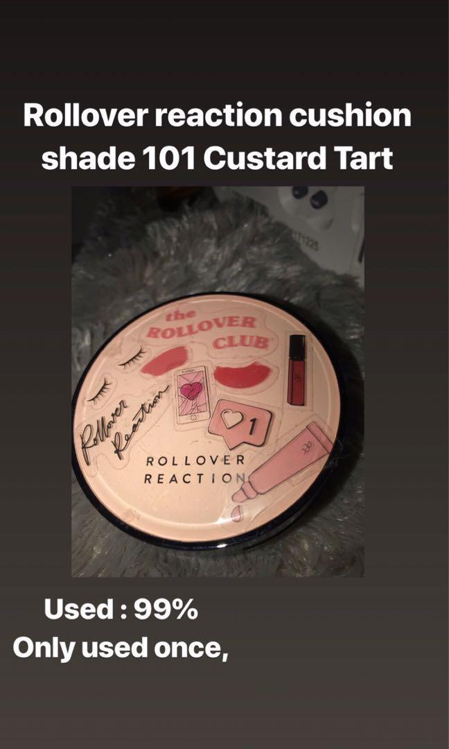 ROLLOVER REACTION CUSHION SHADE 101 CUSTARD TART