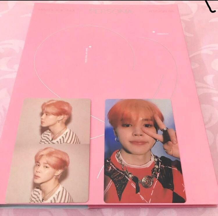 [SALE] BTS PERSONA PHOTOCARD OFFICIAL