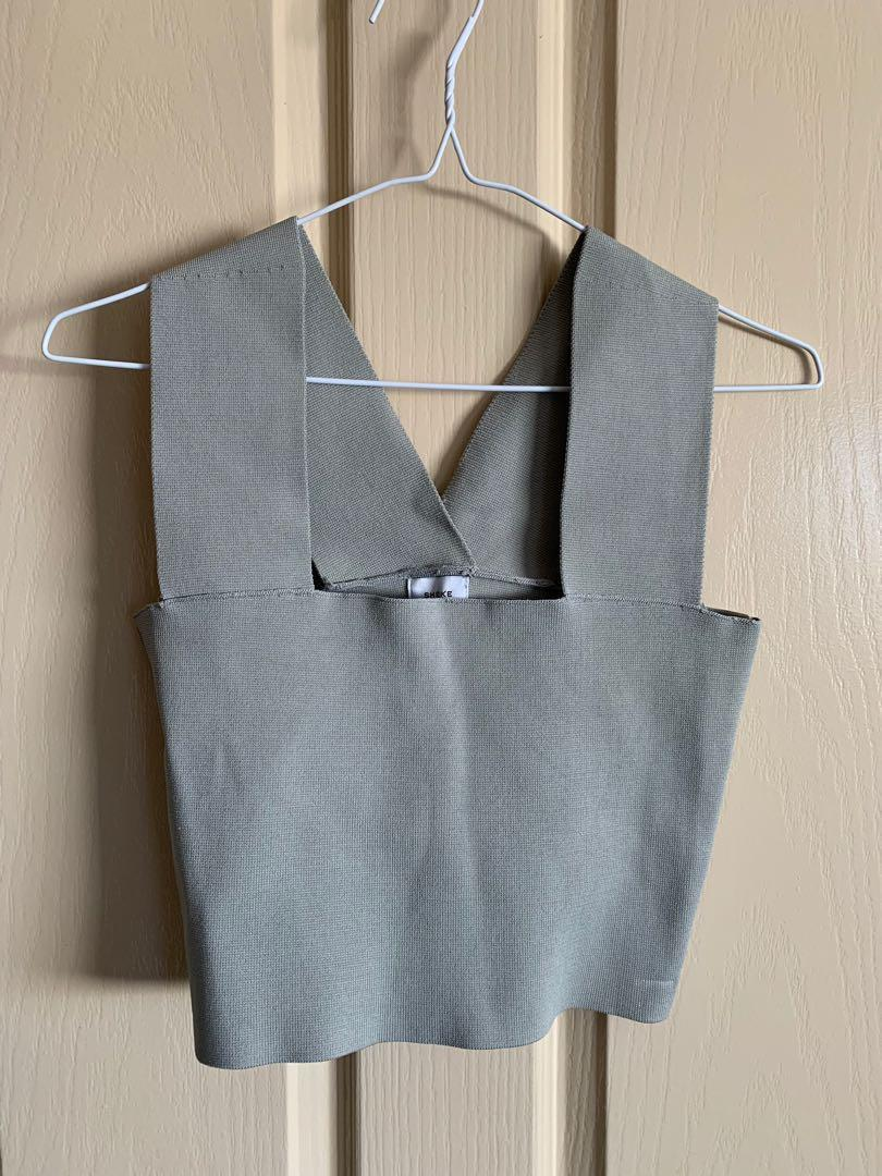 Sheike Amalfi Top - Grey Size XS