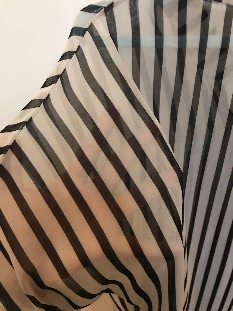 Stripes Blouse / baju perempuan