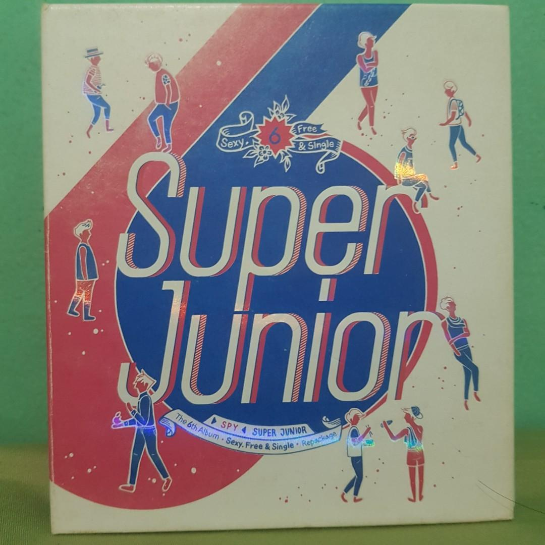 SUPER JUNIOR 6TH ALBUM REPACKAGE