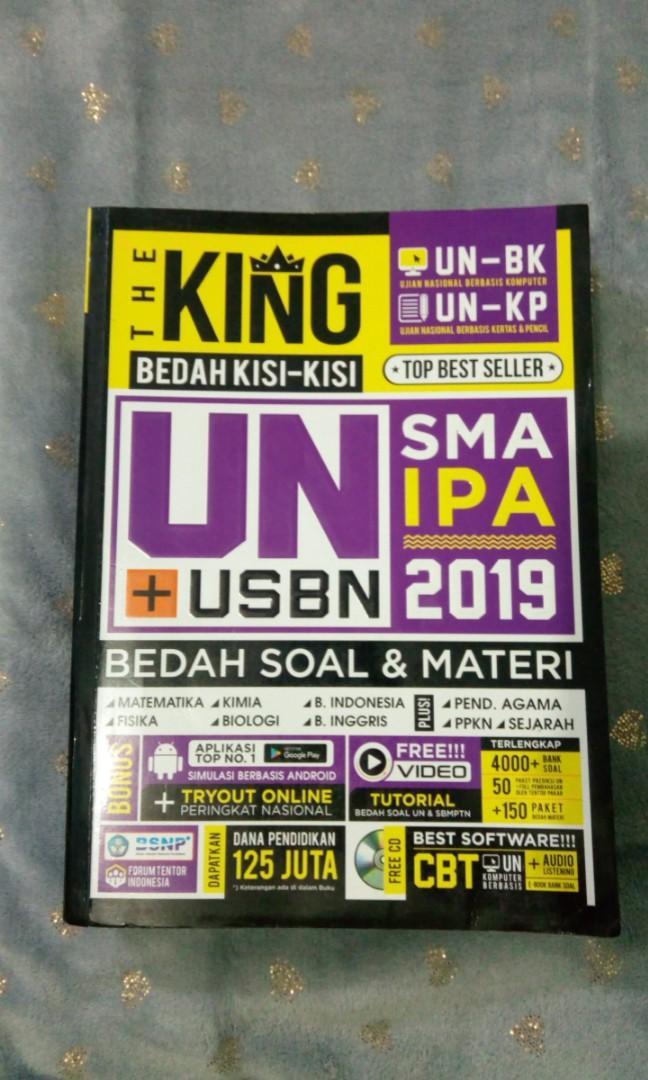 The King UN + USBN SMA IPA 2019